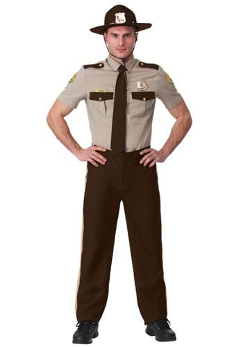 Super Troopers State Trooper Adult Plus Size Costume