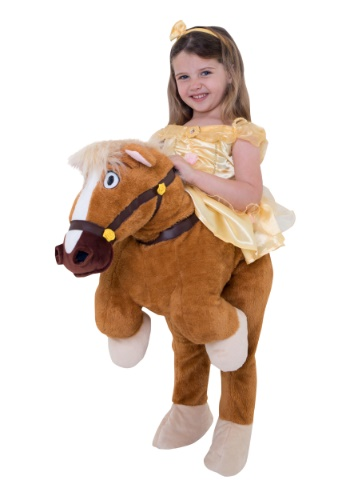 Toddler Girl costume Belle Ride On