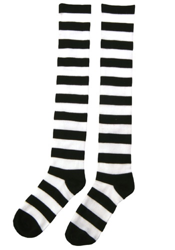Click Here to buy Striped Witch Socks from HalloweenCostumes, CDN Funds & Shipping