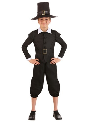 First Pilgrim Costume for Boys
