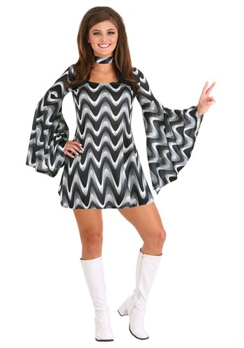 Click Here to buy Silver Queen Disco Costume from HalloweenCostumes, CDN Funds & Shipping