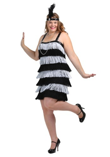 Jazz Time Honey Plus Size Costume Dress