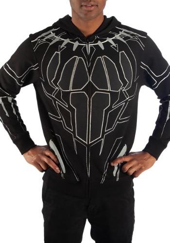 Black Panther Ballistic Nylon Hoodie Costume
