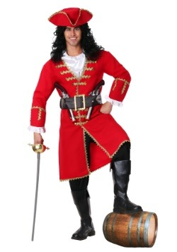Plus Size Captain Morgan Costume