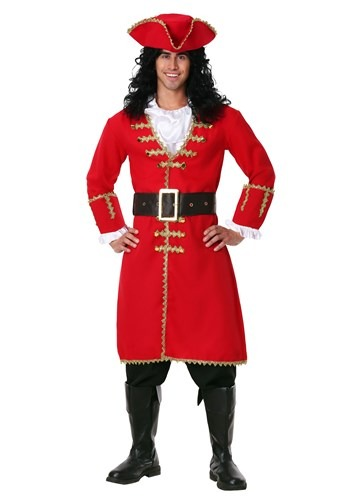Click Here to buy Plus Size Captain Blackheart Costume from HalloweenCostumes, CDN Funds & Shipping