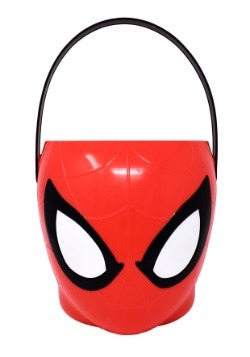 Spiderman Plastic Trick or Treat Bucket