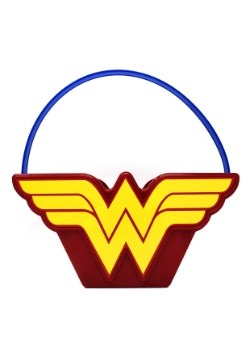 Wonder Woman Plastic Trick or Treat Bucket