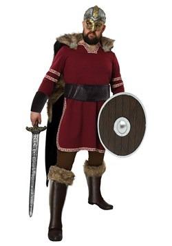 Men's Plus Size Burgundy Viking