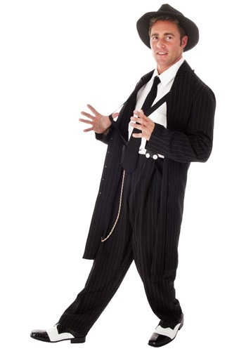 Click Here to buy Plus Size Zoot Suit Costume from HalloweenCostumes, CDN Funds & Shipping