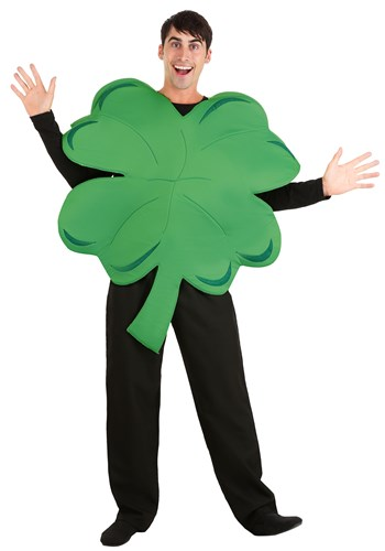 Green Four Leaf Clover Costume