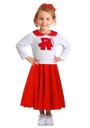 Click Here to buy Toddler Grease Rydell High Cheerleader Costume from HalloweenCostumes, CDN Funds & Shipping