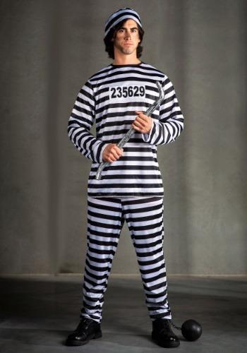 Plus Size Mens Prisoner Costume