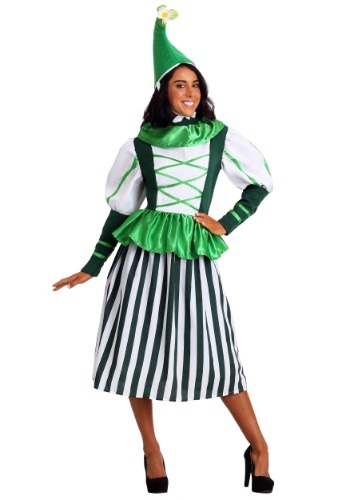 Click Here to buy Plus Size Deluxe Munchkin Woman Costume from HalloweenCostumes, CDN Funds & Shipping