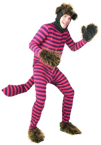 Click Here to buy Plus Size Cheshire Cat Costume from HalloweenCostumes, CDN Funds & Shipping