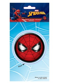 Spider-Man Head Logo 4x8 Car Window Decal