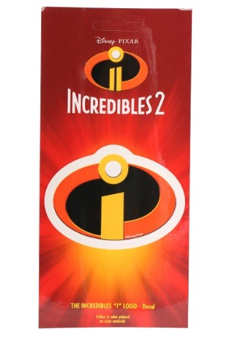 Disney Incredibles Logo Exclusive Decal