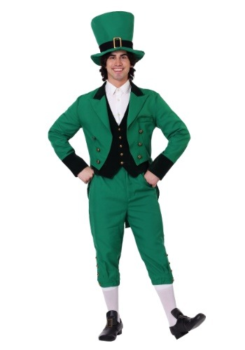 Click Here to buy Plus Size Leprechaun Costume from HalloweenCostumes, CDN Funds & Shipping