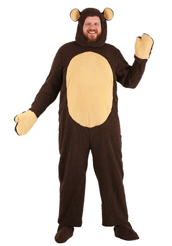 Click Here to buy Plus Size Bear Costume | Animal Costumes For Adults from HalloweenCostumes, CDN Funds & Shipping