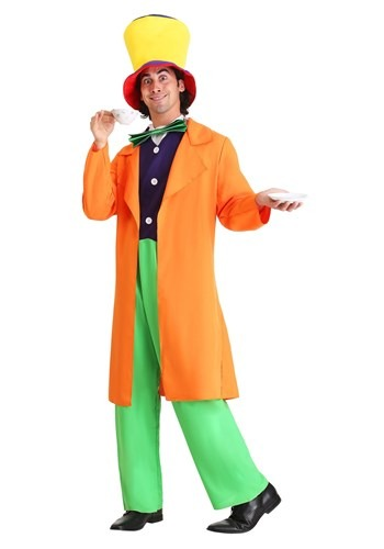 Click Here to buy Plus Size Mad Hatter Costume from HalloweenCostumes, CDN Funds & Shipping