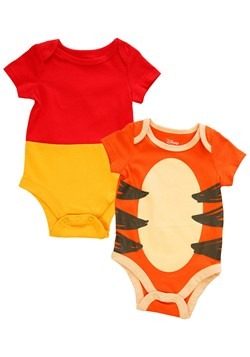 Infant 2 Pack Winnie The Pooh and Tigger Onesie