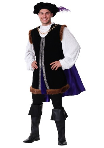 Click Here to buy Plus Size Noble Renaissance Man Costume from HalloweenCostumes, CDN Funds & Shipping