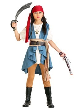 Seven Seas Pirate Sweetie Costume Girl's