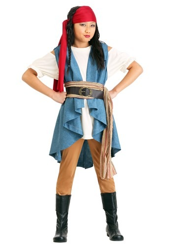 Click Here to buy Seven Seas Pirate Sweetie Girls Costume from HalloweenCostumes, CDN Funds & Shipping