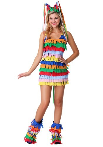 Click Here to buy Sexy Plus Size Pinata Costume from HalloweenCostumes, CDN Funds & Shipping