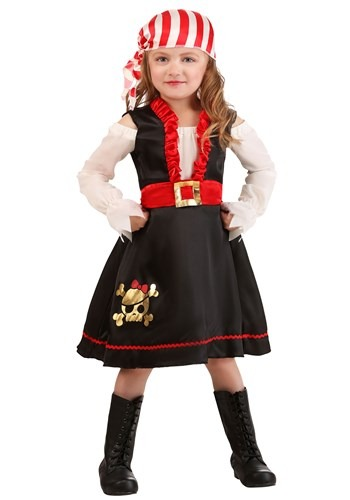 Toddler Pretty Pirate Girl Costume