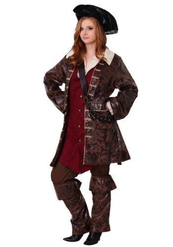 Click Here to buy Plus Size Womens Caribbean Pirate Costume from HalloweenCostumes, CDN Funds & Shipping