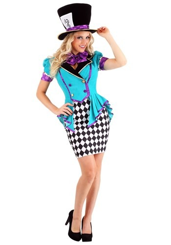 Marvelously Mad Hatter Womens Costume