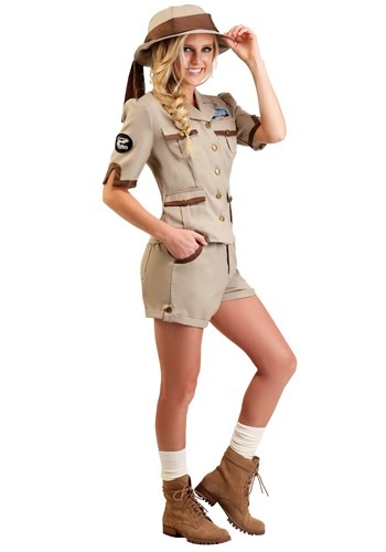 Click Here to buy Paleontologist Womens Costume Archaeologist Womens Costume from HalloweenCostumes, CDN Funds & Shipping