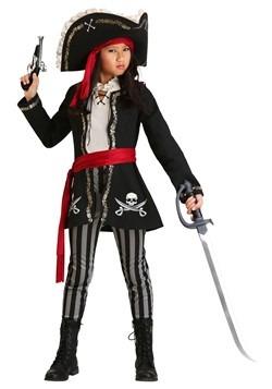 Gold Queen Pirate Costume Girls