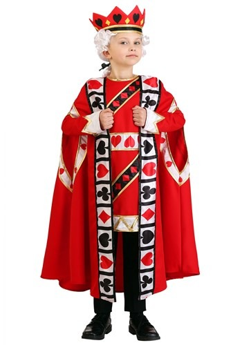 Kids King of Hearts Costume