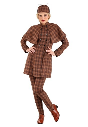 Click Here to buy Sherlock Holmes Womens Costume from HalloweenCostumes, CDN Funds & Shipping