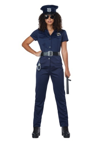 Click Here to buy Police Woman Costume from HalloweenCostumes, CDN Funds & Shipping