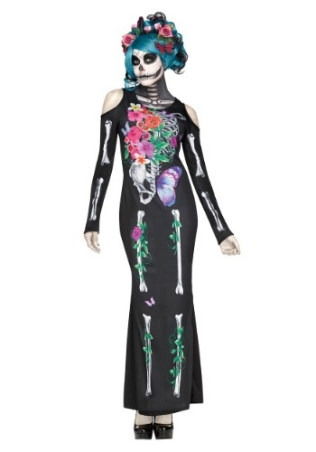 Beautiful Bones Womens Costume