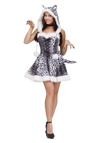 Snow Leopard Womens Costume