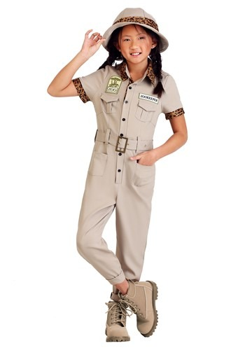 Click Here to buy Zookeeper Girls Costume from HalloweenCostumes, CDN Funds & Shipping