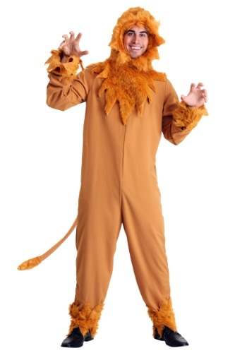 Click Here to buy Plus Size Lion Mens Costume | Animal Costumes For Adults from HalloweenCostumes, CDN Funds & Shipping