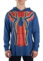 Men's Iron Spider Cosplay Light Weight Costume Hoodie