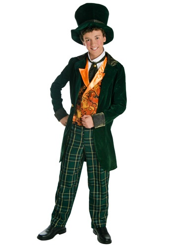 Click Here to buy Deluxe Teen Mad Hatter Costume from HalloweenCostumes, CDN Funds & Shipping