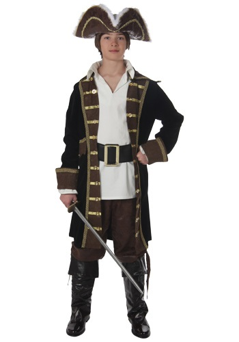 Click Here to buy Teen Realistic Pirate Costume from HalloweenCostumes, CDN Funds & Shipping