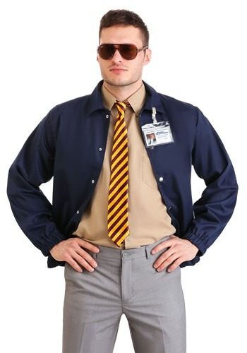Parks and Recreation Burt Macklin Costume for Plus Size Men