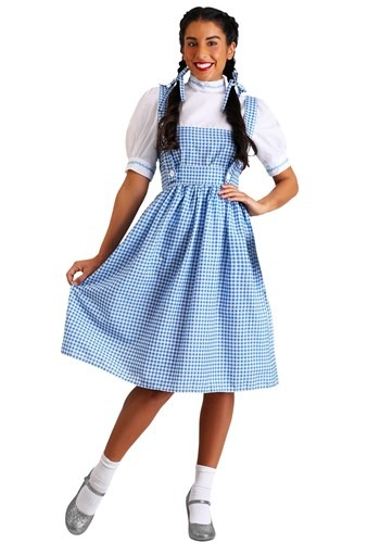 Click Here to buy Plus Size Adult Kansas Girl Costume | farm Girl Costume from HalloweenCostumes, CDN Funds & Shipping