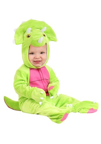 Click Here to buy Tiny Triceratops Costume for Babys from HalloweenCostumes, CDN Funds & Shipping