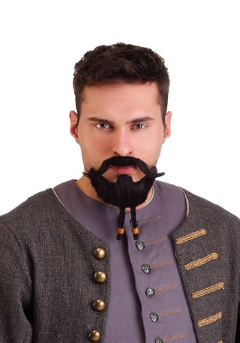 Click Here to buy Savvy Pirate Beard and Mustache from HalloweenCostumes, CDN Funds & Shipping