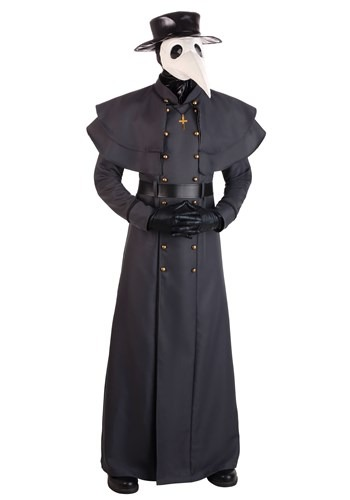 Plus Size Classic Plague Doctor Costume