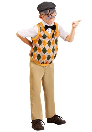 Click Here to buy Kids Old Man Costume from HalloweenCostumes, CDN Funds & Shipping