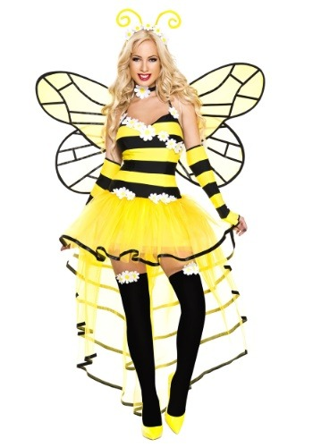 Click Here to buy Deluxe Womens Queen Bee Costume from HalloweenCostumes, CDN Funds & Shipping
